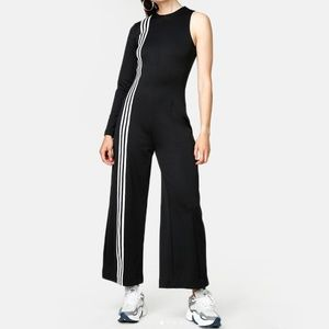 Adidas Originals TLRD Black One Sleeve Jumpsuit